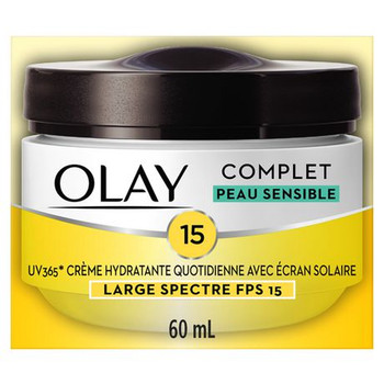 Olay Complete Daily Moisturizing Cream with Sunscreen for Sensitive Skin SPF 15 | 60 ml