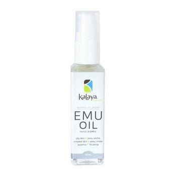 Kalaya Naturals Emu Oil for Dry, Irritated Skin and Eczema | 30 ml