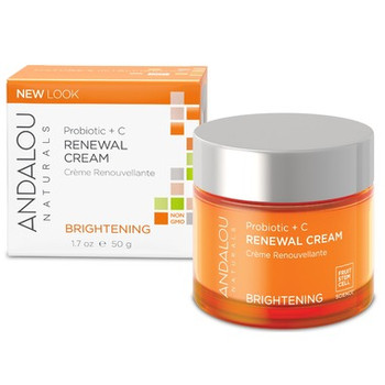 Andalou Naturals Probiotic + C Brightening Renewal Cream | 50 g