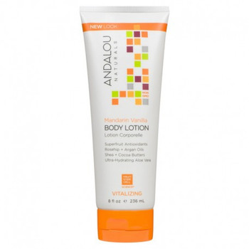 Andalou Naturals Mandarin Vanilla Vitalizing Body Lotion | 236 ml