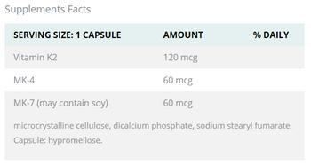 AOR Vitamin K2 60