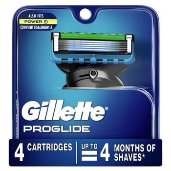 Gillette ProGlide Refill   4 Cartridges