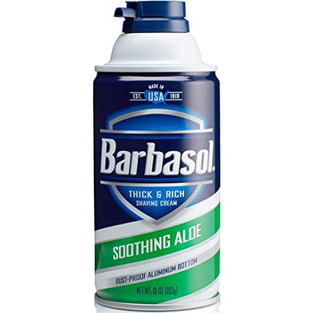 Barbasol Soothing Aloe Thick & Rich Shaving Cream | 312 g