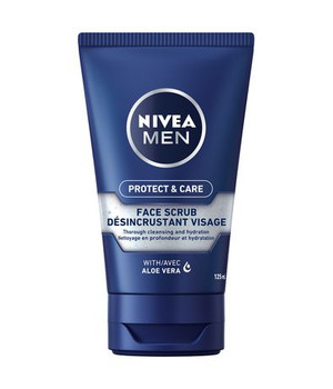 Nivea Men Protect & Care Face Scrub with Aloe Vera | 125 ml