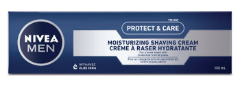 Nivea Men Protect & Care Shaving Cream with Aloe Vera | 100 ml