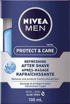 Nivea Men Protect & Care Refreshing After Shave with Aloe Vera | 100 ml