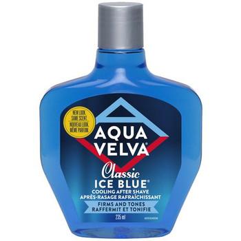 Aqua Velva Classic Ice Blue Cooling After Shave | 235 ml