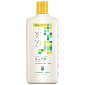 Andalou Naturals Sunflower & Citrus Shampoo for Strength & Vitality  | 340 ml