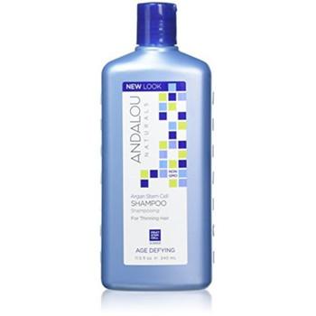 Andalou Naturals  Argan Stem Cell Shampoo for Thinning Hair | 340 ml