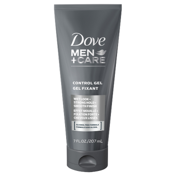 Dove Men+Care Control Gel - Strong Hold, Wet Look, & Smooth Finish | 207 ml