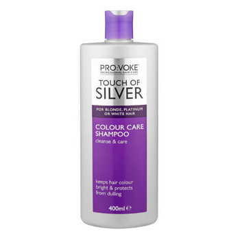 ProVoke Touch of Silver Colour Care Shampoo for Blonde, Platinum or White Hair | 400 ml