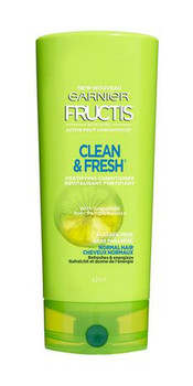 Garnier Fructis Clean & Fresh Fortifying Conditioner with Active Fruit Concentrate | 354 ml