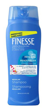Finesse Daily Renewal Regular Shampoo with Boost of Camellia Oil & Active Proteins | 300 ml