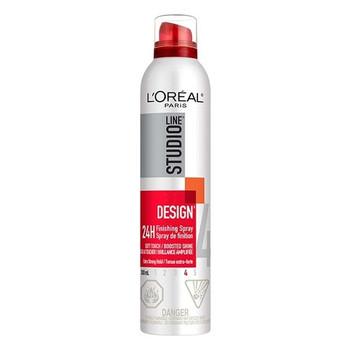 L'Oréal Studio Design 24H Finishing Hair Spray - Hold Level 4 | 300 ml