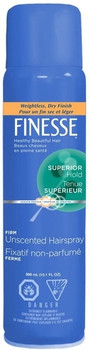 Finesse Superior Hold Firm Unscented Hairspray | 300 ml