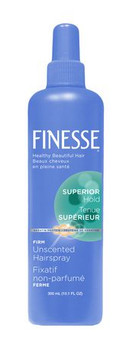 Finesse Superior Hold Firm Unscented Hair Spray | 300 ml