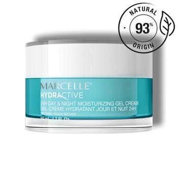Marcelle Hydractive 24H Moisturizing Gel Cream Day & Night - Dry Skin   50 ml