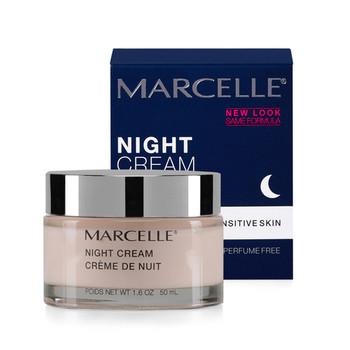 Marcelle Night Cream for Sensitive Skin   50 ml