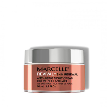 Marcelle Revival+ Renewing Anti-Aging Night Cream for All Skin Types   50 ml