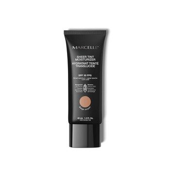 Marcelle Sheer Tint Moisturizer 24H Hydration with Hyaluronic Acid - Crème Beige SPF 30   40 ml