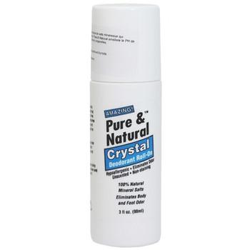 DSA Pure & Natural Crystal Deodorant Roll-On | 90 ml