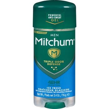 Mitchum Men Triple Odor Defense 48H Ice Fresh Gel Antiperspirant | 96 g