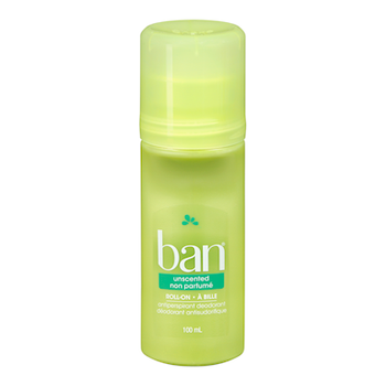 Ban Unscented Roll-On Antiperspirant | 100 mL