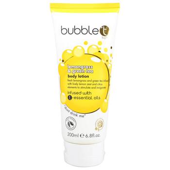 Bubble t Lemongrass & Green Tea Body Lotion   200 ml