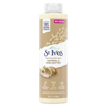 St. Ives Oatmeal & Shea Butter Soothing Body Wash   650 ml