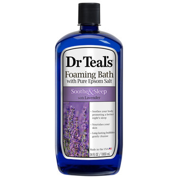 Dr Teal's Soothe & Sleep Foaming Bath with Lavender & Pure Epsom Salt | 1 L