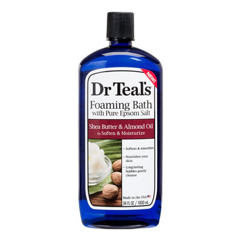 Dr Teal's Shea Butter & Almond Oil Foaming Bath with Pure Epsom Salt | 1 L