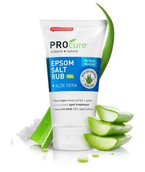 PROcure Epsom Salt Rub with Aloe Vera   177 ml
