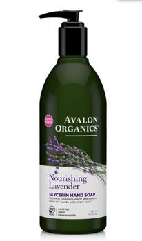 Avalon Organics Nourishing Lavender Glycerin Hand Soap | 355 ml