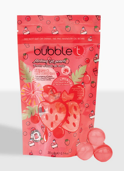 Bubble t Hibiscus & Açai Berry Tea Melting Oil Pearls | 20 x 4 g