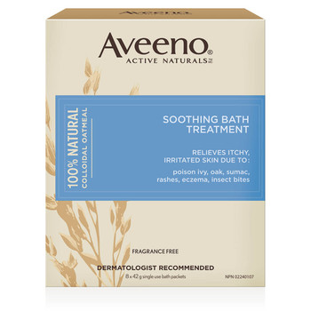 Aveeno Soothing Bath Treatment - Fragrance Free | 354 ml