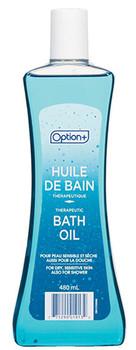 Option+ Therapeutic Bath Oil for Dry, Sensitive Skin  