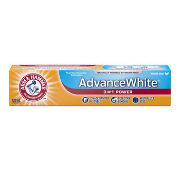 Arm & Hammer Advance White 3 in 1 Power Fluoride Anticavity Toothpaste - Winter Mint | 120 ml