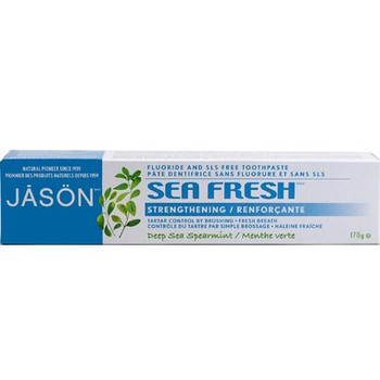 Jasön Sea Fresh Strengthening Deep Sea Spearmint Toothpaste | 170g