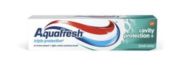 Aquafresh Triple Cavity Protection+ Fluoride Toothpaste - Fresh Mint | 90 ml