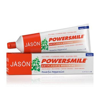 Jasön Powersmile Whitening Powerful Peppermint Toothpaste | 170 g