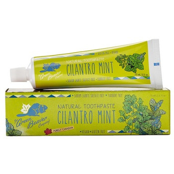 Green Beaver Cilantro Mint Natural Toothpaste | 75 mL