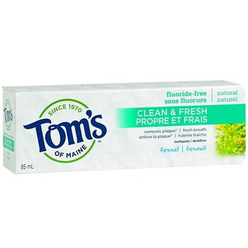 Tom's of Maine Clean & Fresh Fennel Toothpaste | 85 mL