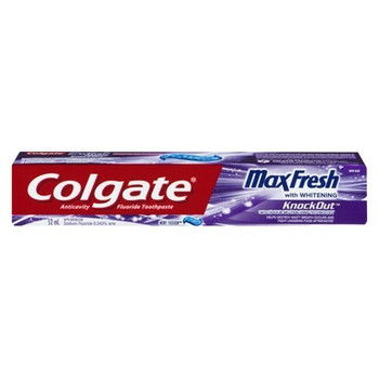 Colgate Max Fresh Whitening Anti Cavity Fluoride Toothpaste - Mint Fusion | 52 ml