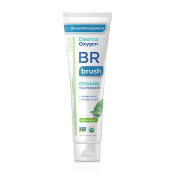 Essential Oxygen BR Organic Toothpaste - Peppermint | 113 g