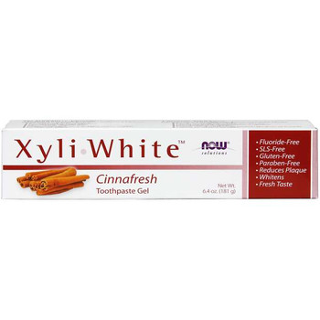 NOW Xyli-White Cinnafresh Toothpaste Gel | 181 g