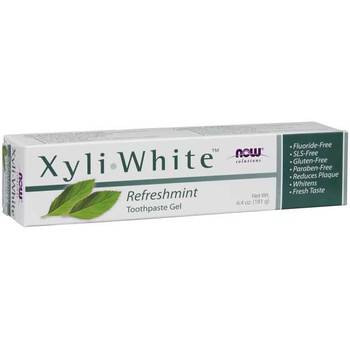NOW Xyli-White Refreshmint Toothpaste Gel | 181 g