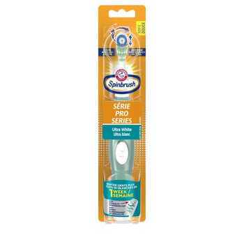 Arm & Hammer Spinbrush Ultra White Series Powered Toothbrush | Medium