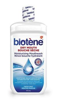 Biotène Dry Mouth Moisturizing Mouthwash - Fresh Mint | 473 ml
