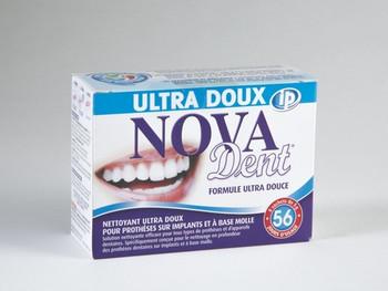 Nova Dent Ultra Soft Formula Denture & Dental Appliances Cleanser | 56 Days
