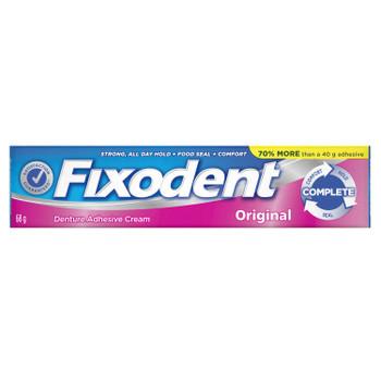 Fixodent Complete Original Denture Adhesive Cream | 68 g